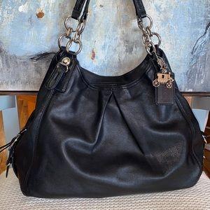Coach Maggie Madison Mia Leather Shoulder Bag